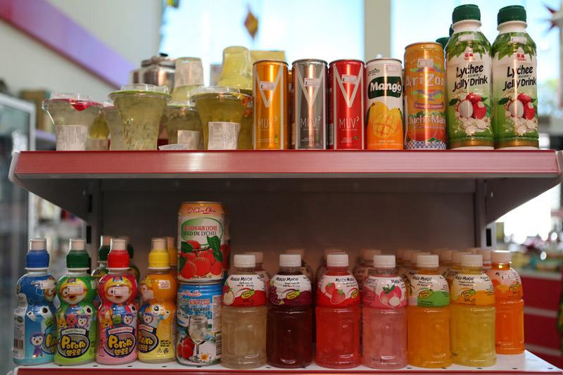 Bebidas importadas e nacional