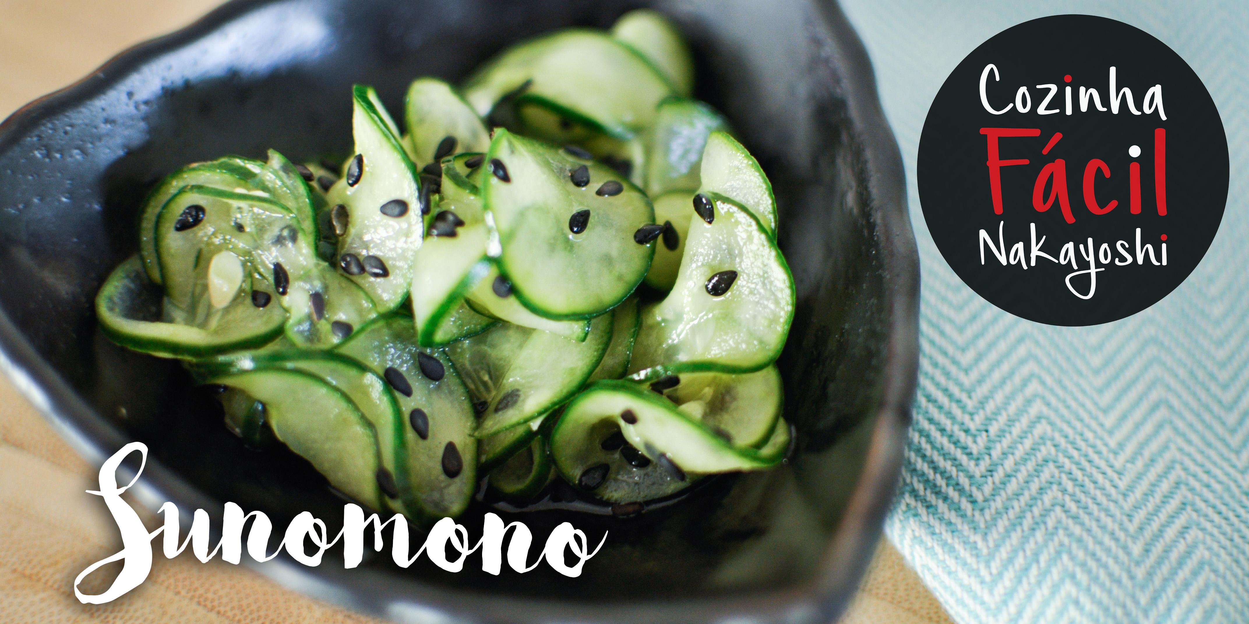 Sunomono {Salada de Pepino} | Cozinha Fácil Nakayoshi #30