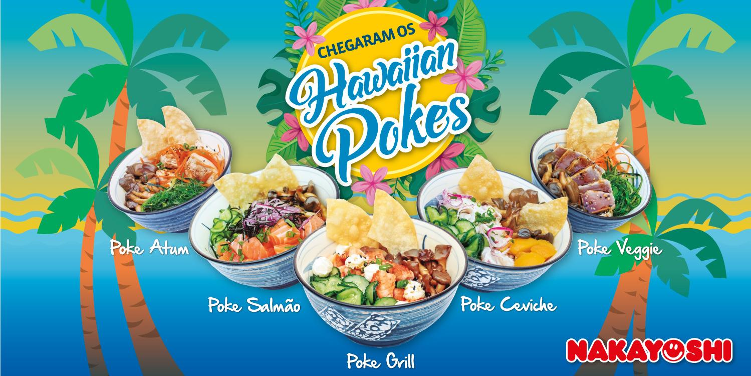 Havaiian Pokes na Primavera Nakayoshi