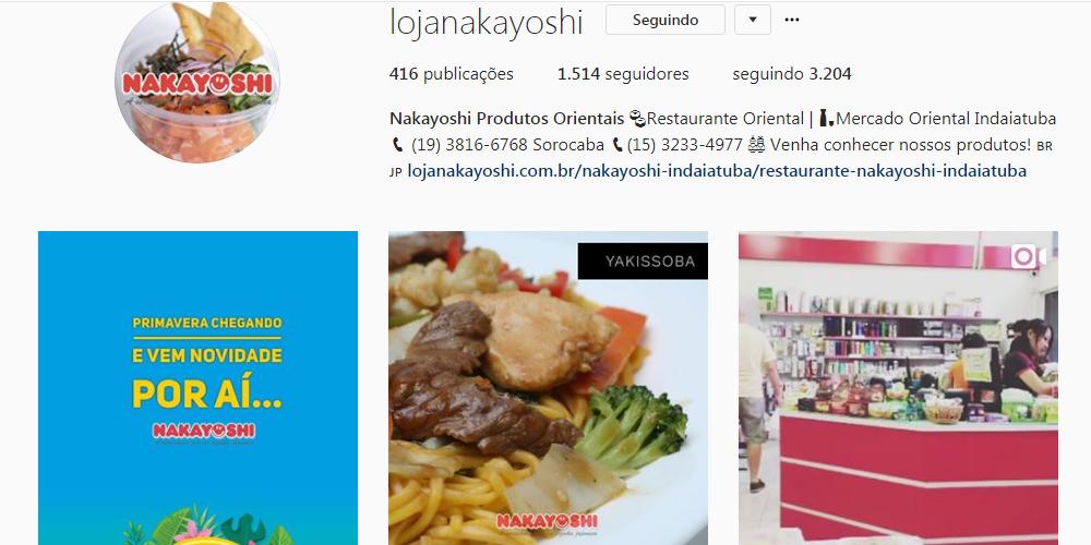 Nakayoshi no Instagram