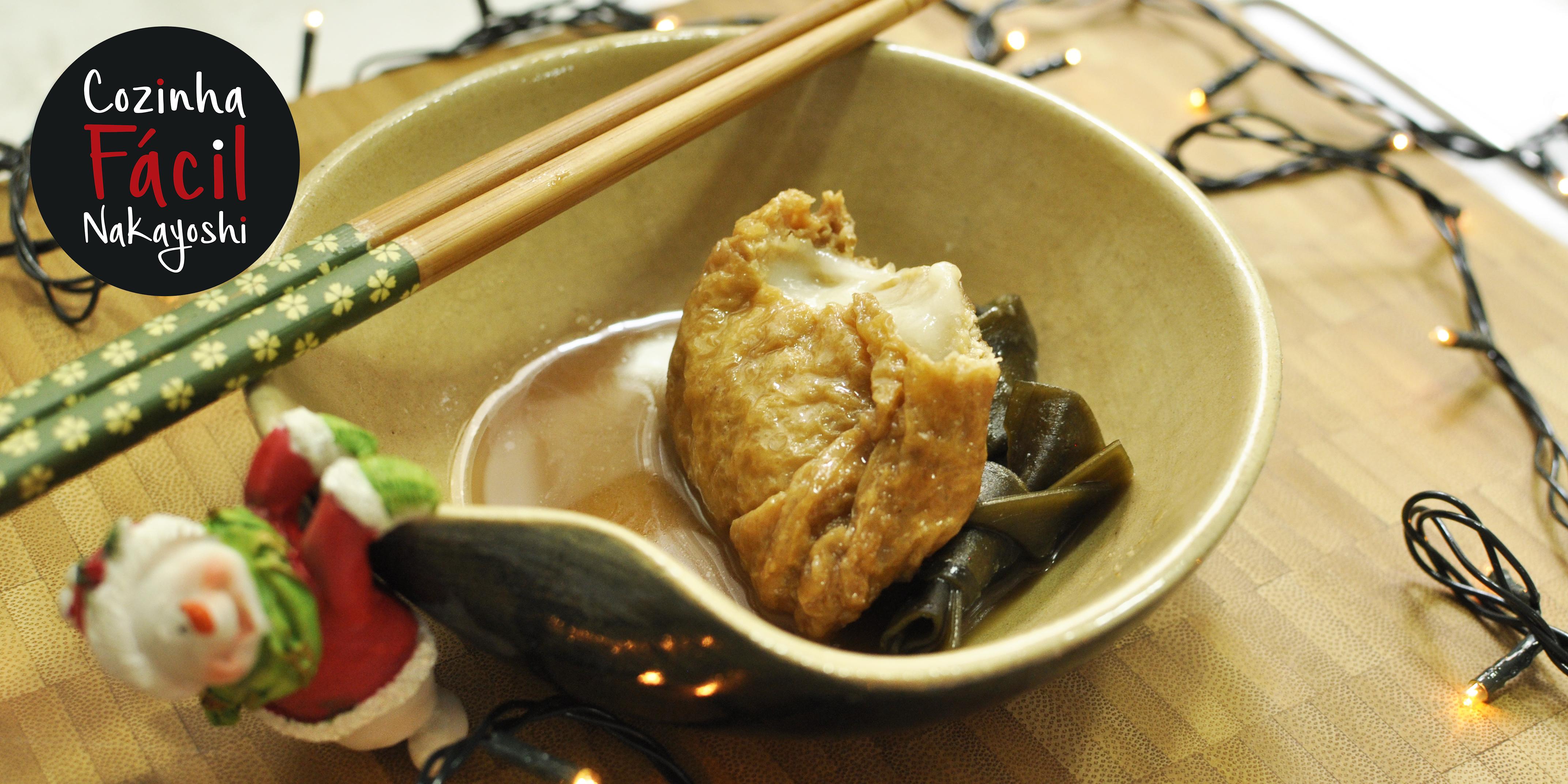 Kinchaku {saquinho da fortuna} | Cozinha Fácil Nakayoshi #18