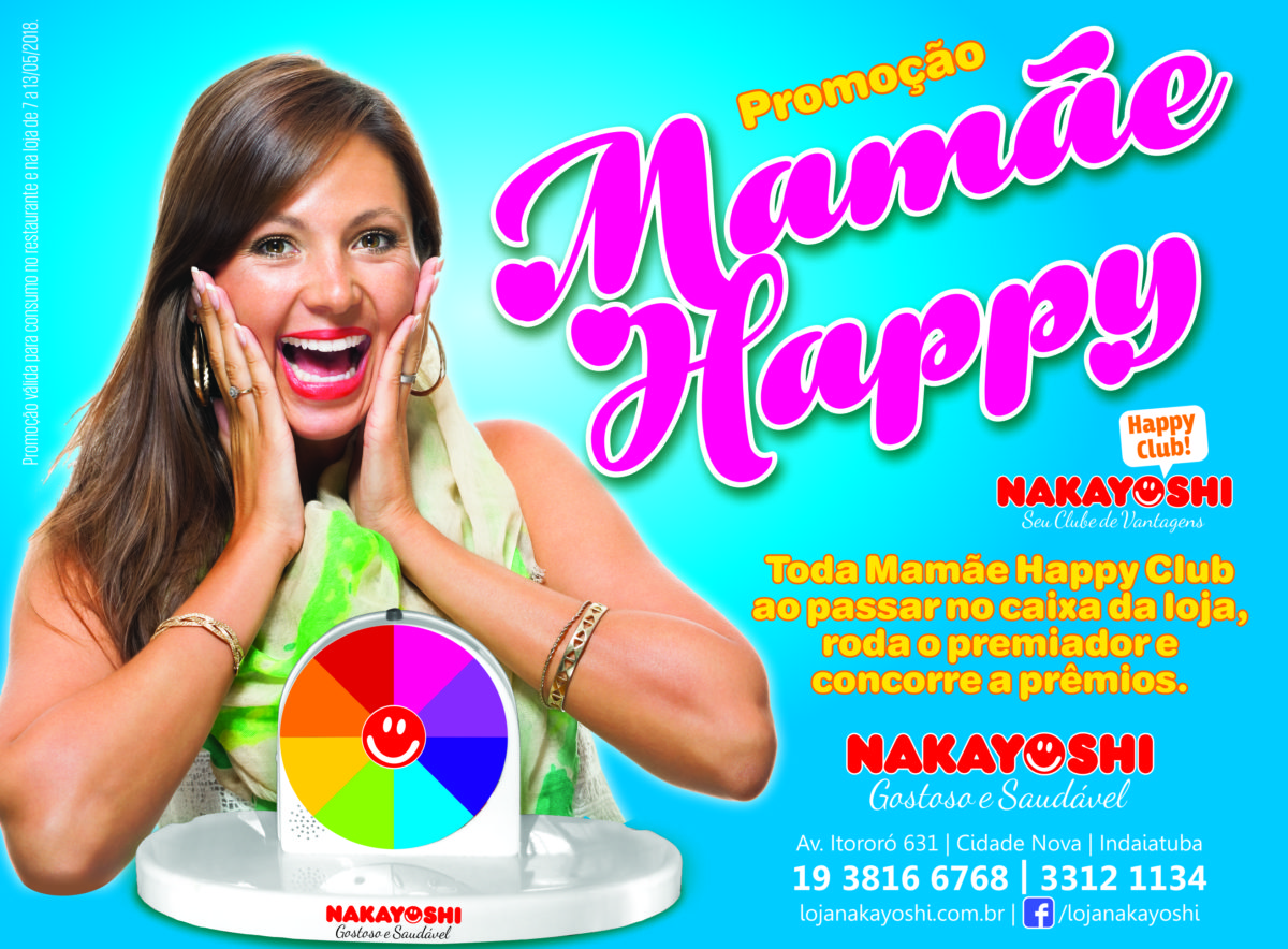 nakayoshi - promoção semana das mães ( anúncio meia página Revista Imediata )