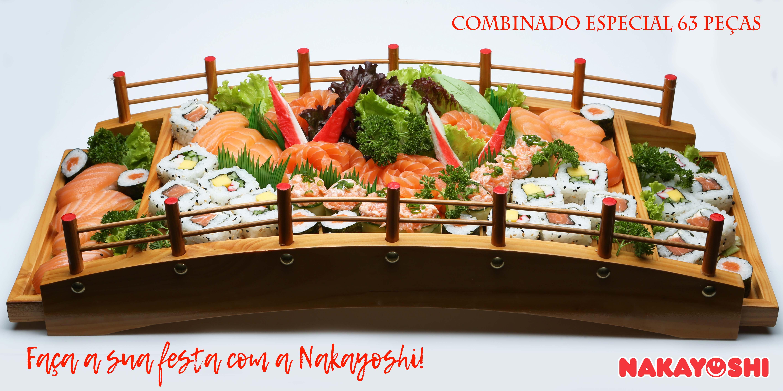 Buffet de Sushi para Festas | Nakayoshi Indaiatuba