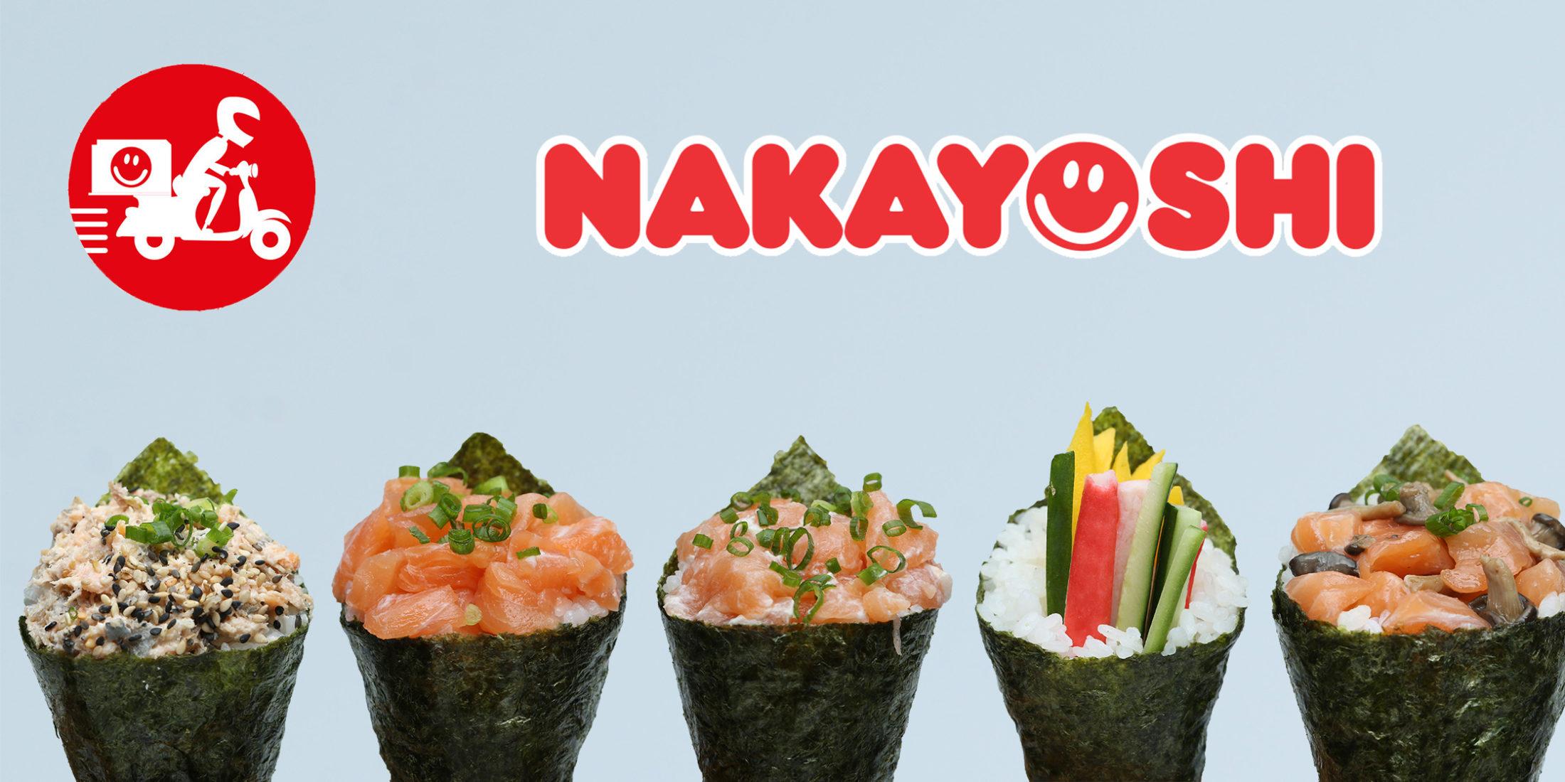 Sushi Delivery no Almoço   Nakayoshi Indaiatuba