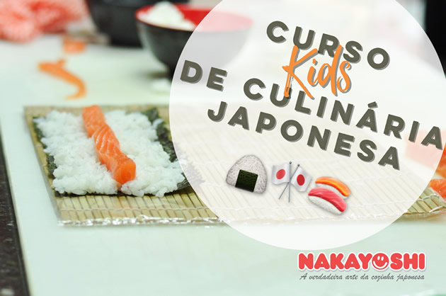 Curso Kids de Culinária Japonesa