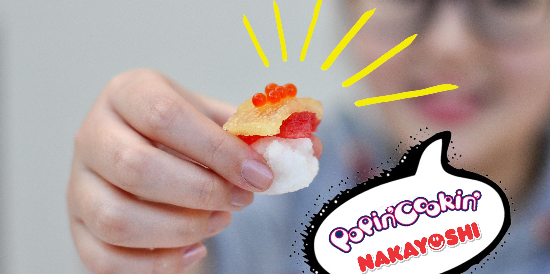Popin' Cookin' de Sushiman no Canal Nakayoshi