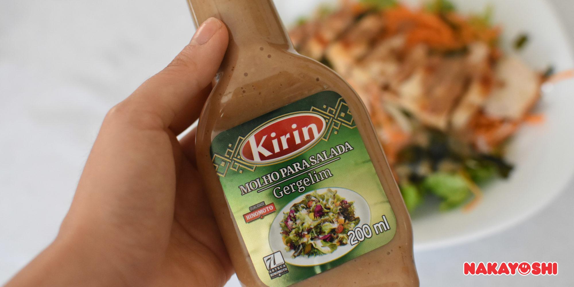 Molho Kirin Gergelim para Salada